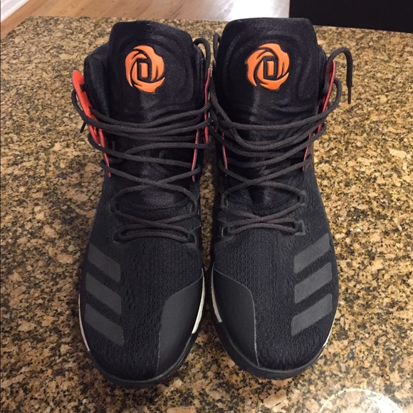 57a06fc49446 adidas Other - Adidas D Rose 7 - Black with Boost - Size 12